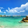 Tropical paradise - Seychelles islands, panoramic ...