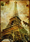Eiffel tower - Parisian details - vintage series