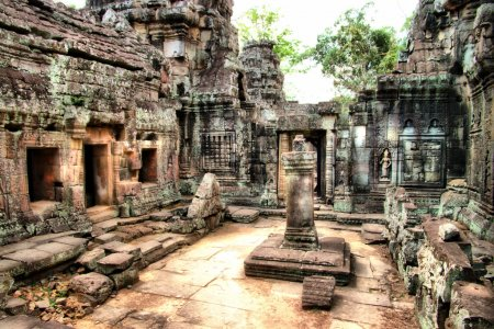 Photo for Ancient cambodian temple - Royalty Free Image