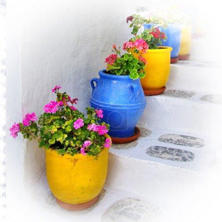 Photo pour Détails colorés de la Grèce - image libre de droit
