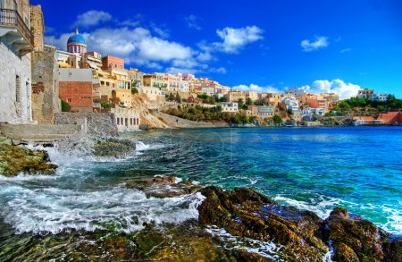 Photo for Beautiful Greek islands series - Syros - Royalty Free Image
