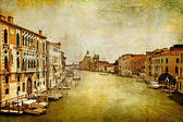 Grand canal -Venice - artwork in painting style