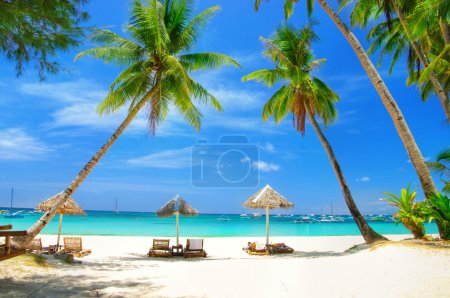 Romantic tropical vacation