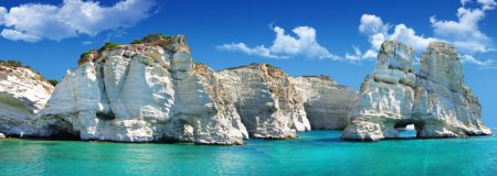 Greek holidays - beautiful island Milos