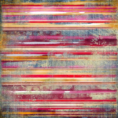 Vintage striped fabric background