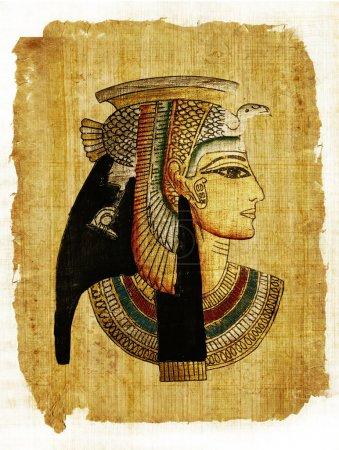 Photo pour Vieux parchemin égyptien - image libre de droit