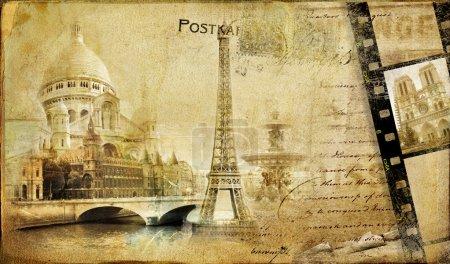 Memories about Paris.. vintage photoalbum series