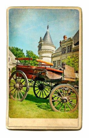 European landmarks vintage cards series