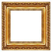 Nóbl pozlaceného rámu - hranatý tvar