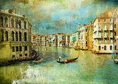 Amazing Venice - artwork in retro style