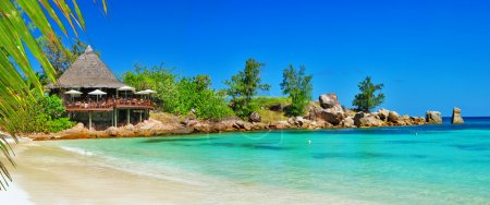 Photo pour Seychelles, paradis tropical - image libre de droit