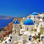 Amazing scenic Santorini