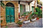 Old streets, Crete.