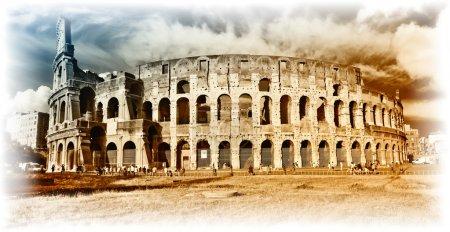 Foto de Gran Coliseo - artística retro estilo foto - Imagen libre de derechos