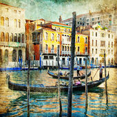 Venice - retro style picture