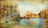 Mystery of Venice - artwork in painting style