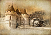 Castles of France- Chaumont - artistic toned vintage picture