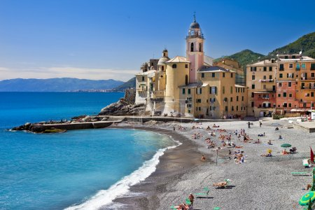 Picturesque Ligurian coast. Bella Italia series