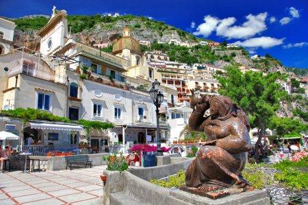 Colorful beautiful Positano, Italy