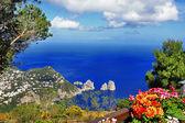Ostrov Capri. Itálie