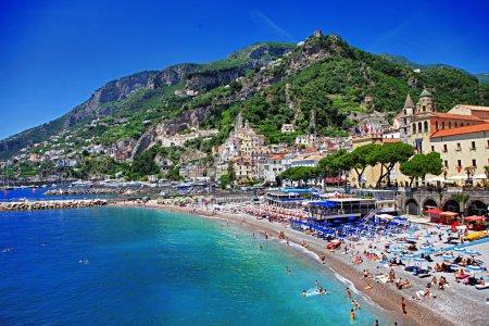 Stunning Amalfi coast. Positano