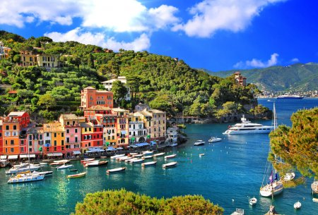Photo for Breathtaken views of small Portofino - Royalty Free Image