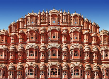 Incredible India. Jaipur, pink city