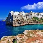 Ravel in Italy series - Polignano al mare, town on...