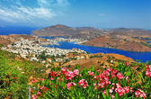Scenic Patmos island, dodecanes, Greece