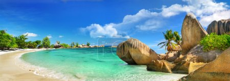 Photo for Tropical holidays in paradise of Seychelles islands - Royalty Free Image