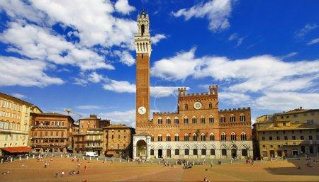 beautiful Siena, Tuscany, Italy