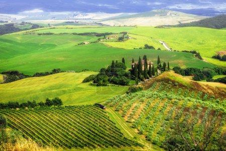 Bella Italia serie - paisajes impresionantes de la Toscana