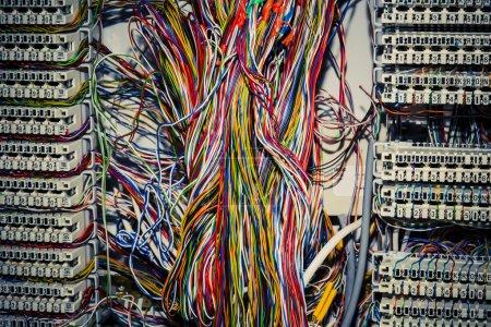 Photo pour Panneau de circuit de commande de communication utilisé pour les téléphones - image libre de droit