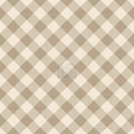 Illustration for Seamless checked background. Eps 10 vector illustration - Royalty Free Image
