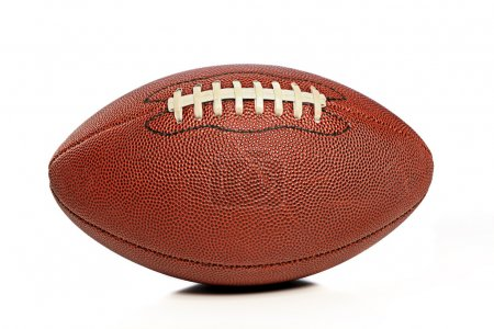 Photo for American Football isolated on a white background - Royalty Free Image