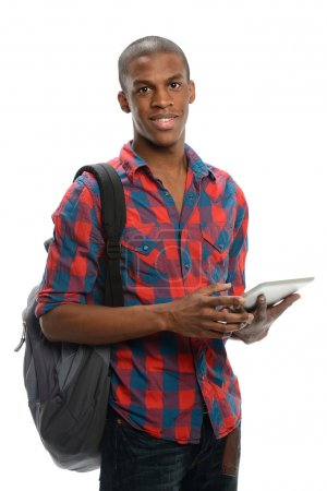 Young black student
