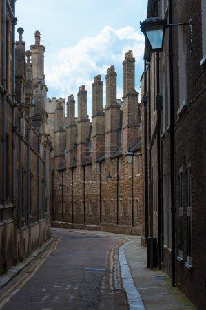 Streets of Cambridge University, Cambridge, England, UK