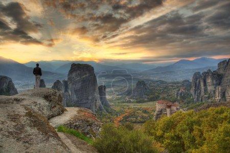 Panorama Meteora Greece