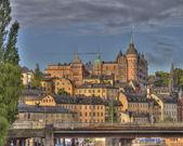 Sunset in Stockholm,Sweden