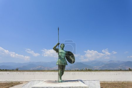 Statue of Alexander the Great in Greece...