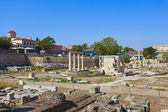 Archaeological site in Greece
