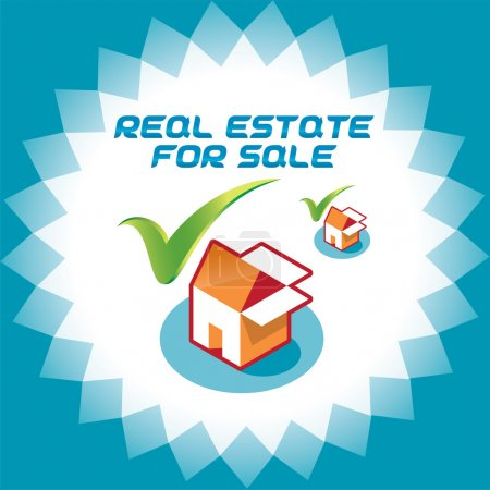 Real Estate Accept Icons Logo