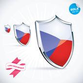 I Love Czech Republic Flag Illustration Sign Symbol Button Badge Icon Logo for Family Baby Children Teenager