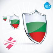 I Love Bulgaria Flag Illustration Sign Symbol Button Badge Icon Logo for Family Baby Children Teenager