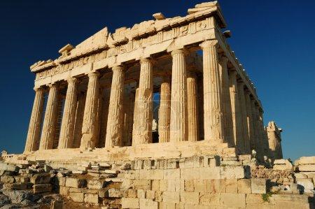 Photo for The Parthenon , a temple on the Athenian Acropolis, Greece - Royalty Free Image