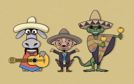 Mexican cartoon characters