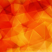 Abstract Autumn geometric shapes plus EPS10