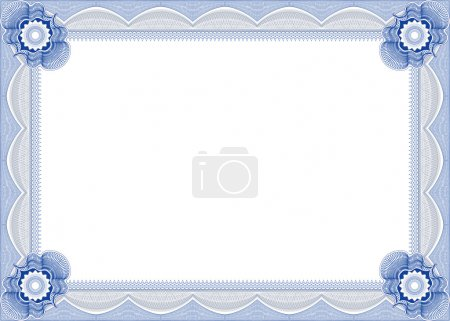 Frame for diploma or certificate.