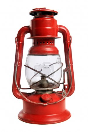 Red Railroad Lantern