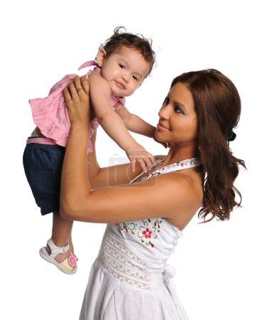 Hispanic Mother and Child